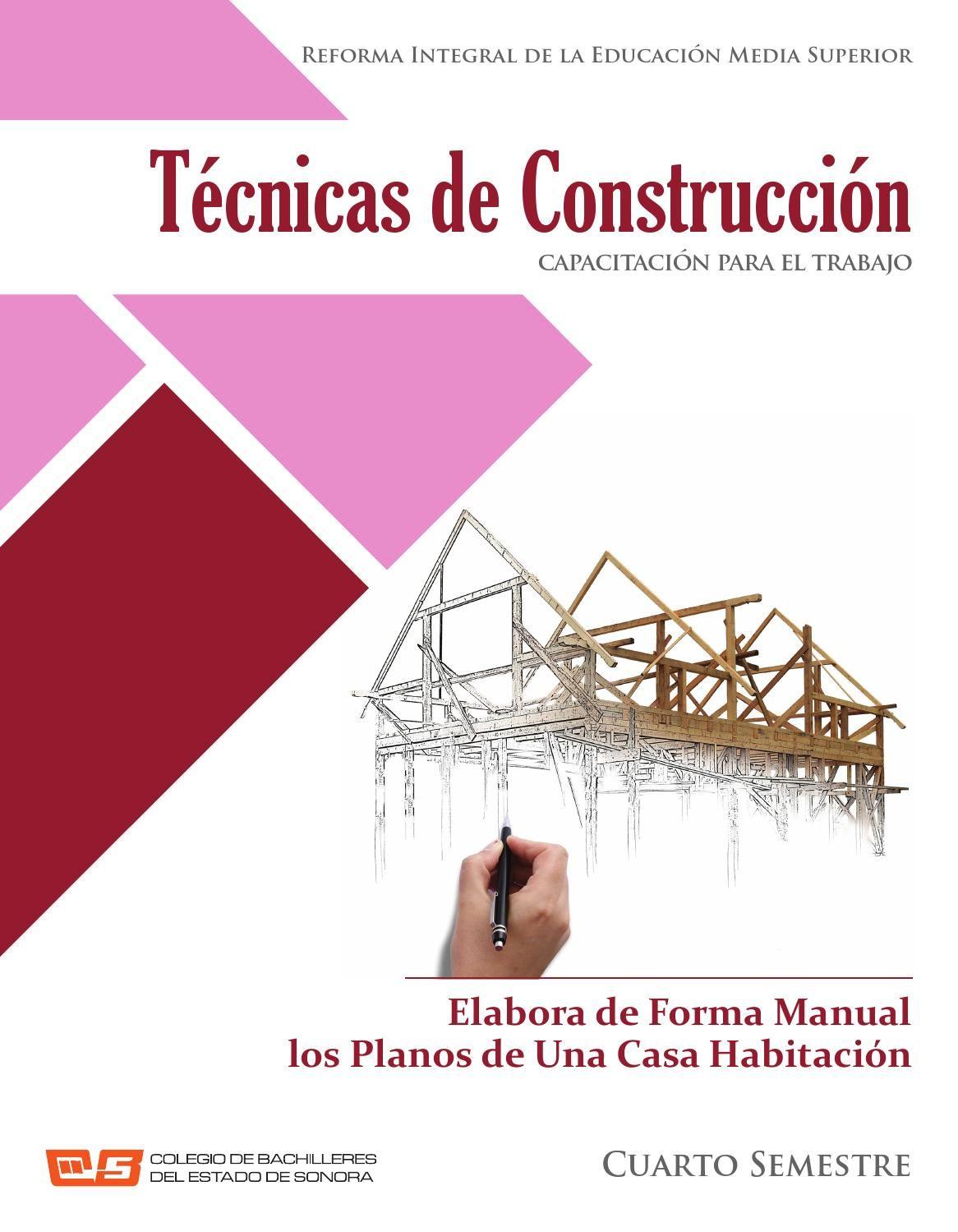 Elabora De Forma Manual Los Planos De Una Casa Habitación