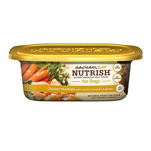 Rachael Ray Nutrish Natural Wet Dog Food Chicken Muttballs With