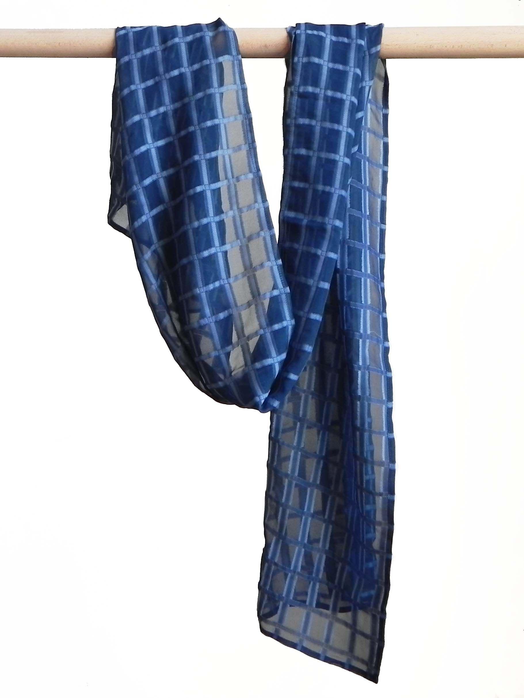 2c8e4fe673ab Etole de tweel de soie teinture naturelle de bois de campêche Réalisé par  la marque Rézéda   Rézéda - teinture naturelle textile   Pinterest