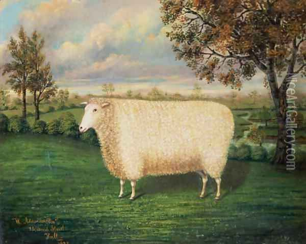Image result for old primitive painting of sheep