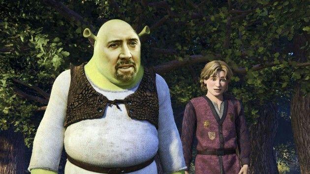 Shrek cage