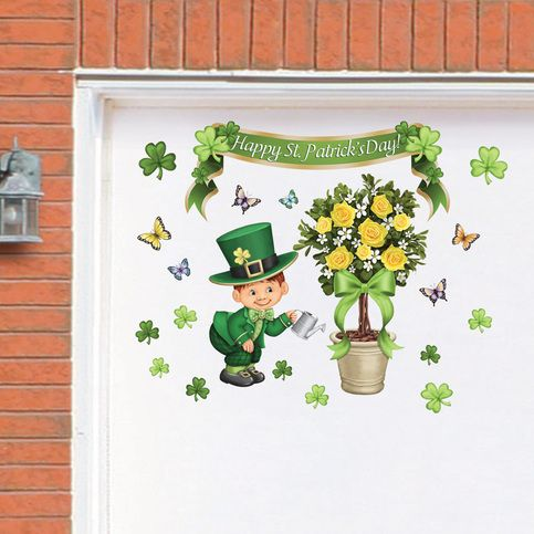 St Patricks Topiary Garage Door Magnets Sold By Gg Decor Shop