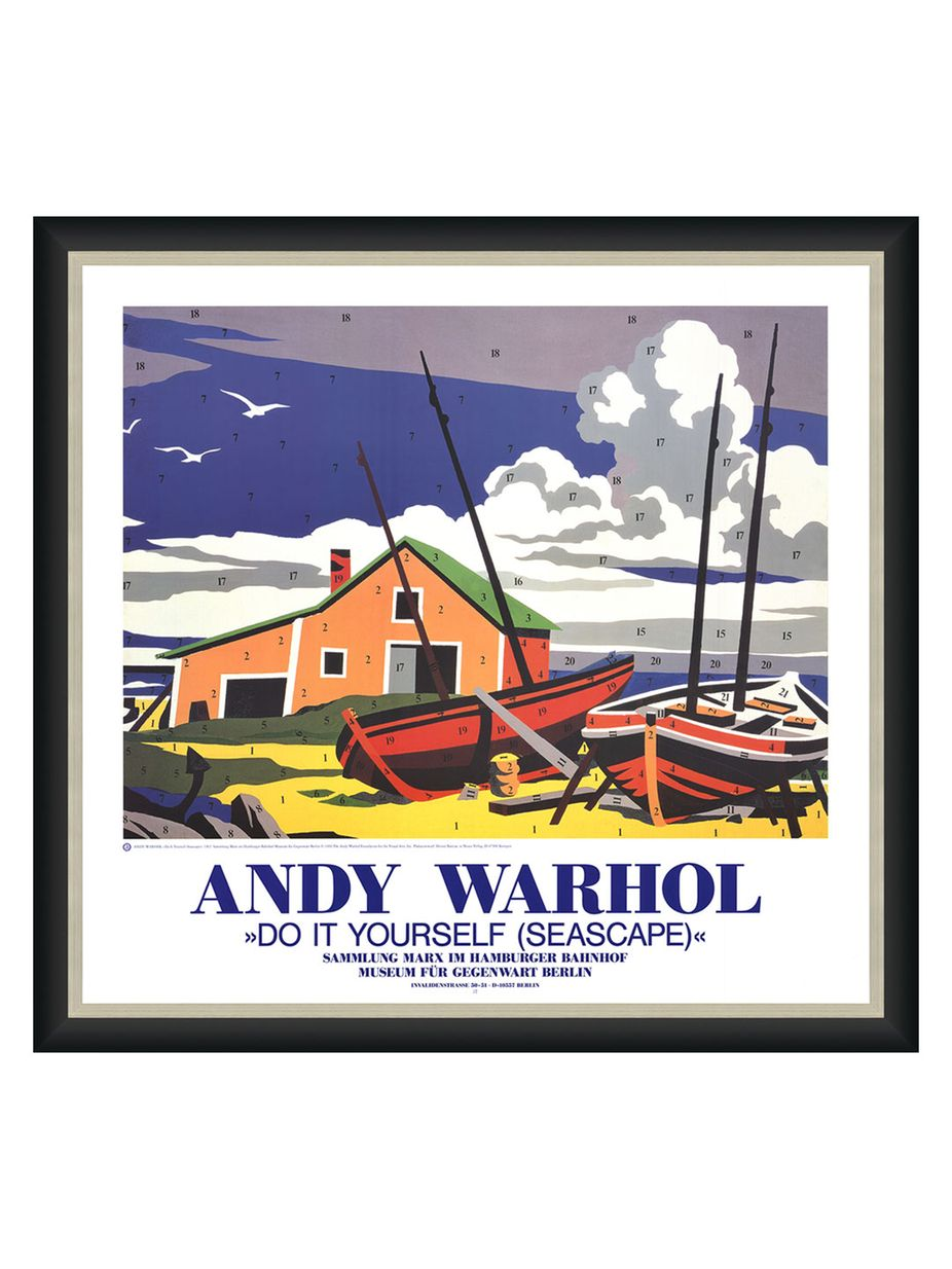 Art source do it yourself seascape by andy warhol offset art source do it yourself seascape by andy warhol offset lithograph solutioingenieria Gallery