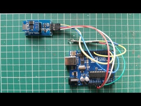 ESP8266 with ESP-01 adapter - Switching LED Control on/off WiFi