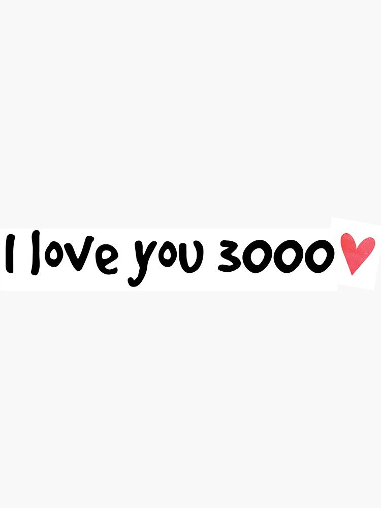 Download I Love You 3000 Svg Free Crafter Files