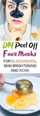 Photo of #Acne #black point face mask #Check #DIY # For #face mask …