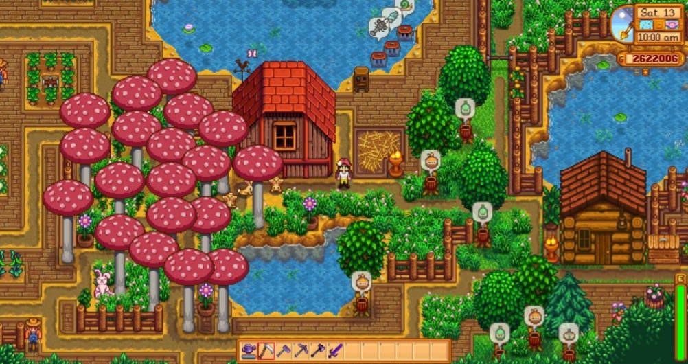 Stardew Valley Forest Farm Stardew Valley Valley Pixel Art
