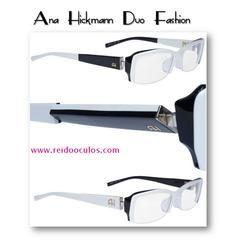 Armacao Ana Hickmann Duo Fhashion Cod 0097 Armacoes De Oculos