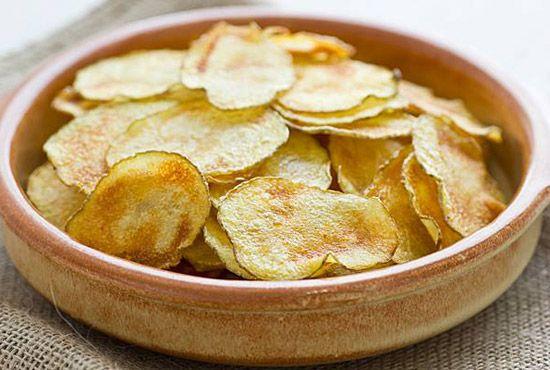 Chips maison au four micro ondes recettes au micro ondes recette recettes de cuisine et - Chips fait maison au four ...