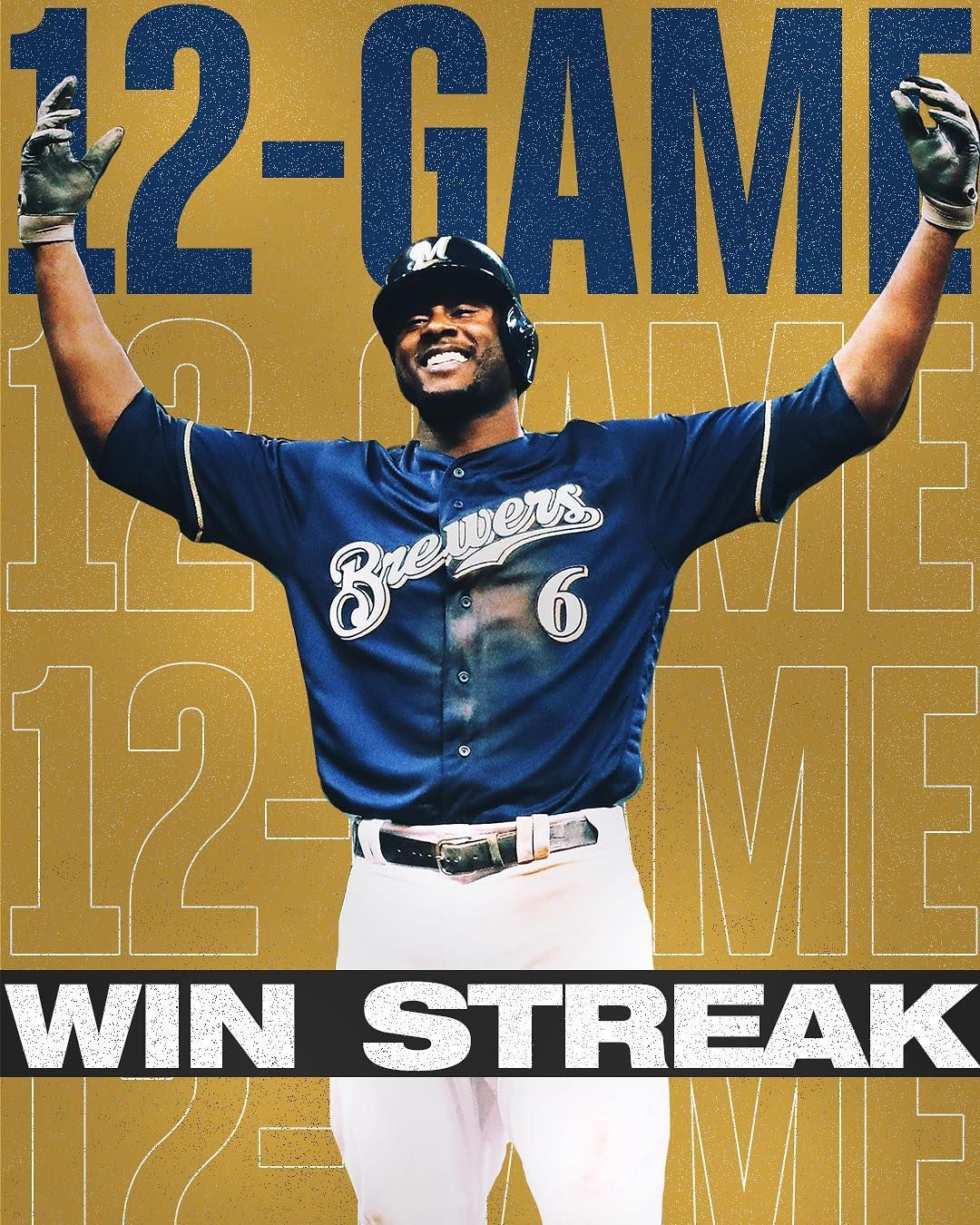 Its All About No 12 In Wisconsin Nlcs Milwaukee Brewers Brewers Major League Baseball