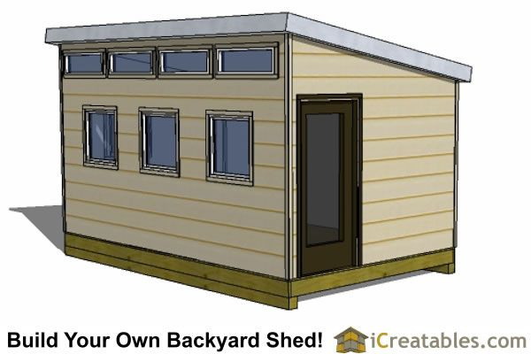 10x12 Office Shed Plans | Shed Plans | Pinterest | Backyard Storage, Barn  And Tree Houses