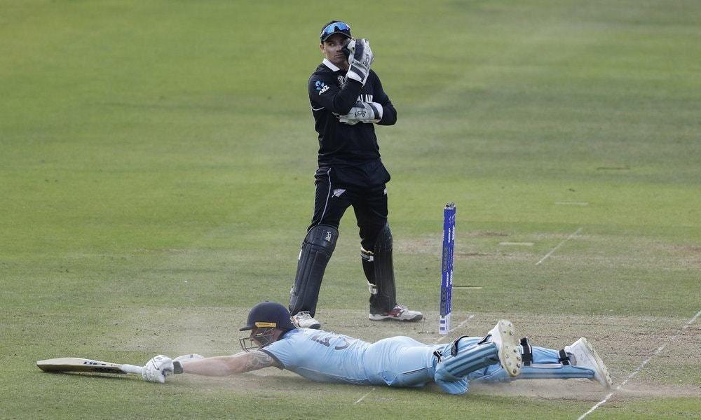 Cricket World Cup final umpire admits 'error' World cup