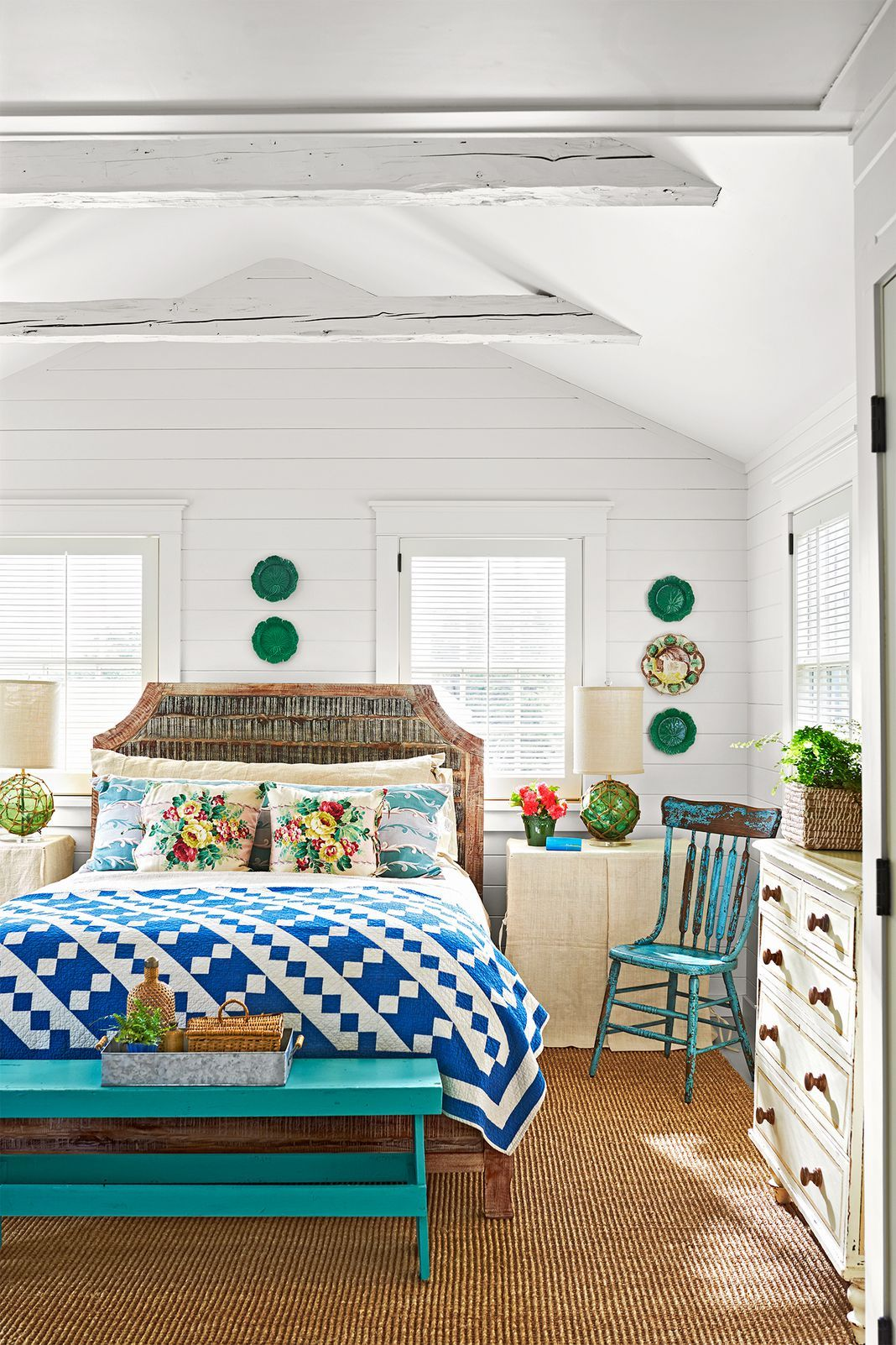 How One Couple Turned An Old Fishing Shack Into A Stunning Summer