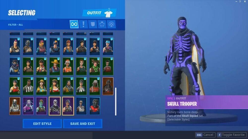 I Got The Rarest Fortnite Account Recon Expert Tracker Skull