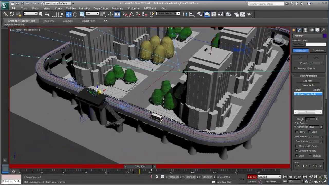 Animation Methods in 3ds Max: Beyond Keyframes with