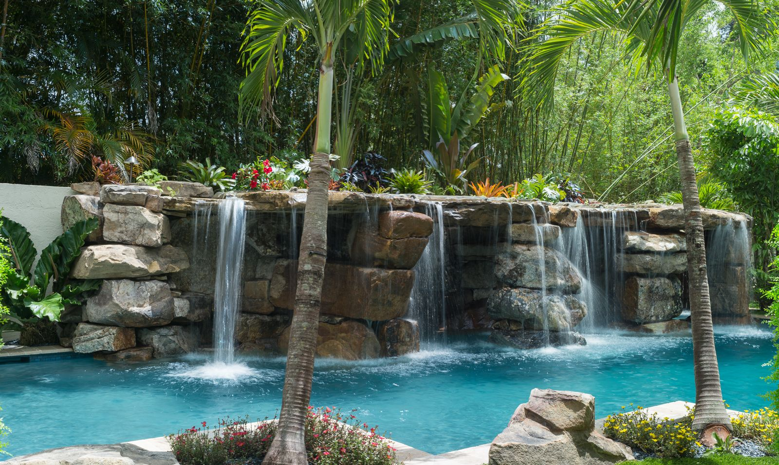 Lucas Lagoons Builds A Costa Rican Style South Florida Custom Pool