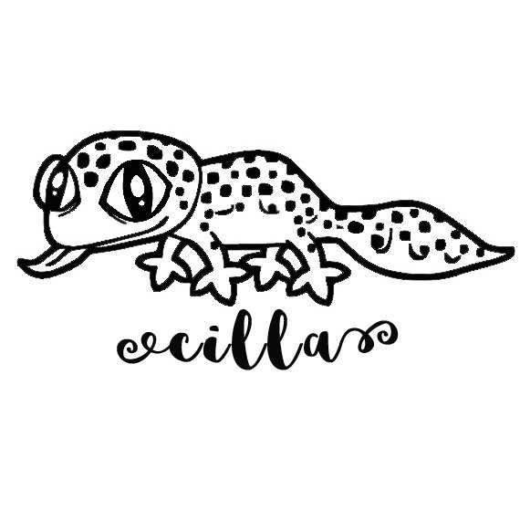 2f361822606a Reptile Decal, Leopard Gecko, Bearded Dragon, Crested Gecko Decal ...