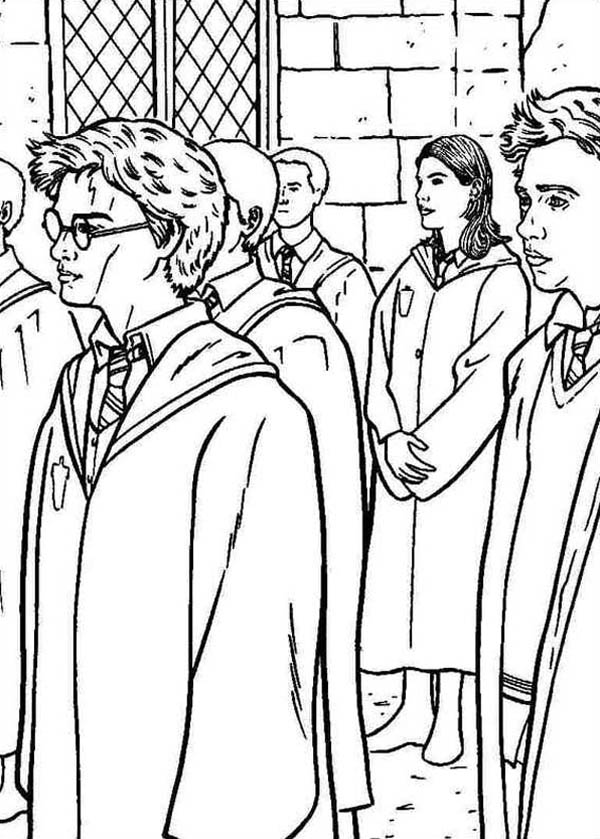 Harry Potter And Order Of Phoenix Coloring Page Netart Harry Potter Coloring Book Harry Potter Coloring Pages Coloring Pages