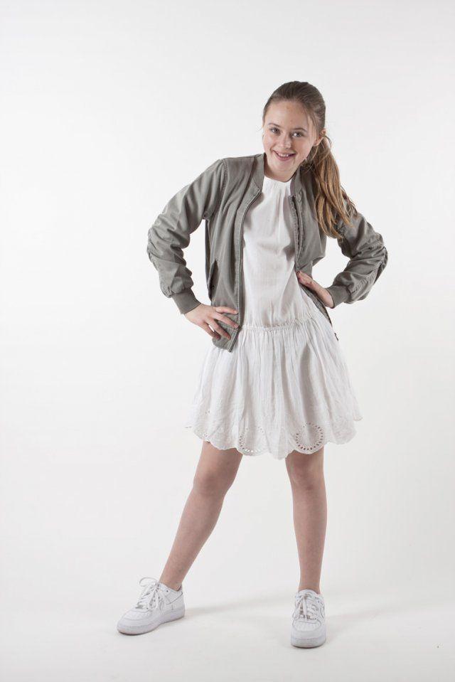 MAY kjole, MAY dress, MAY, Zadie et Voltaire, SDCE04C218, Z244#white, barne klær, ungdoms klær, tweens, 10 - 16 år, 8 - 16 år, sommer kjole, fin kjole, fest kjole, 17. mai klær, | Ask'n Foyn