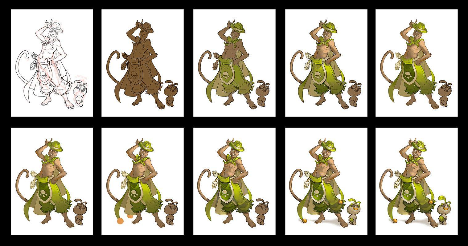 Mister Amakna 2013, Ankama, Dofus Art, Game art, Concept art