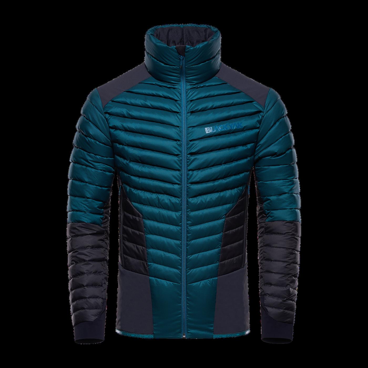 Hybrid Jacket Deap Teal Front Pas7001 Bergwelten