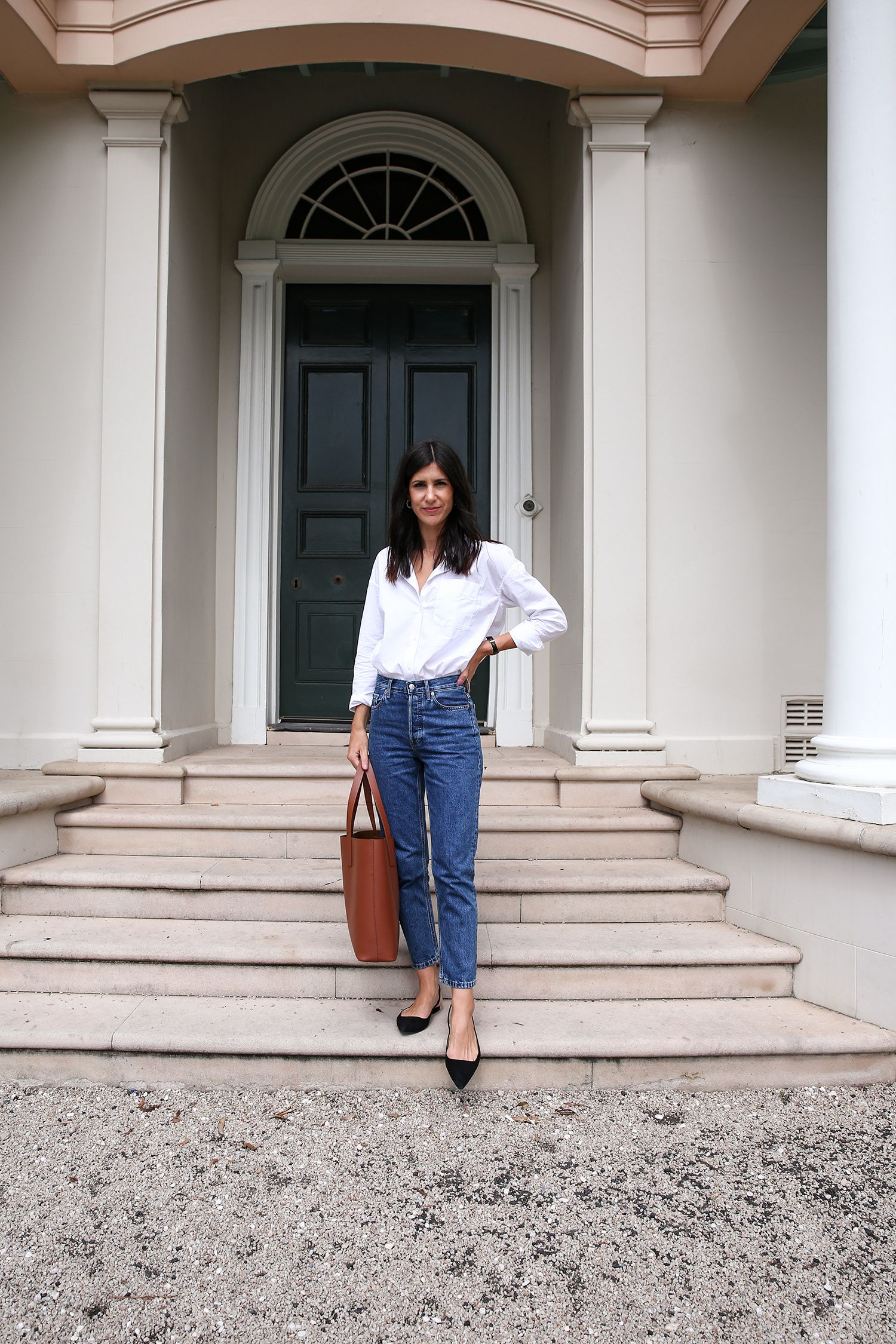 Everlane '90s Cheeky Straight Jean Review   – Mode