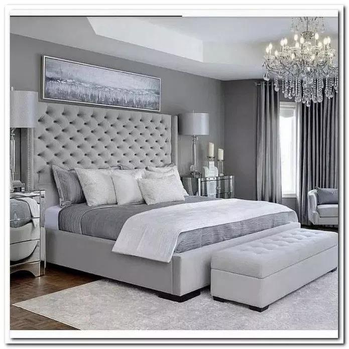 26 Romantic Master Bedroom Design Ideas 1 Grey Bedroom Design Simple Bedroom Design Simple Bedroom
