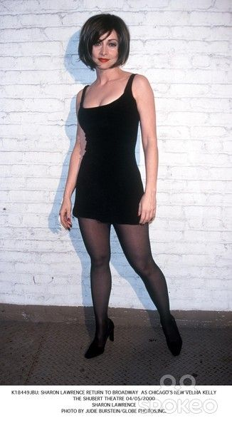 Sharon Lawrence 2000 04 05 Jpg 326 600 Sharon Lawrence Little Black Dress Fashion