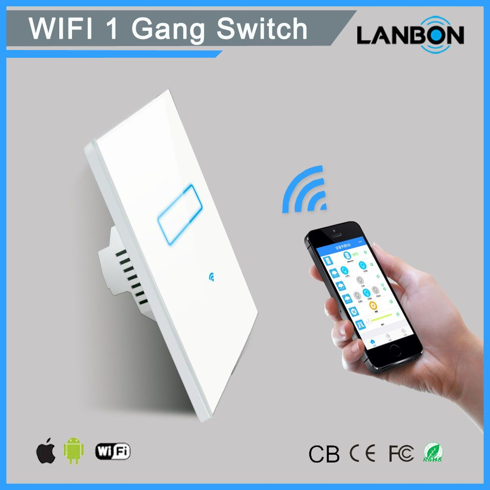 Hot Sell IOT smart home electronics light switch with led