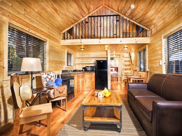 Cabin Loft Rv 39 S Cavco Park Models Compact Living