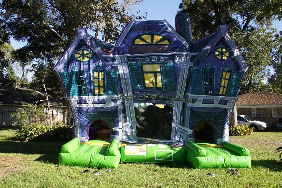haunted house maze moonwalk halloween obstacle courses sky high party rentals