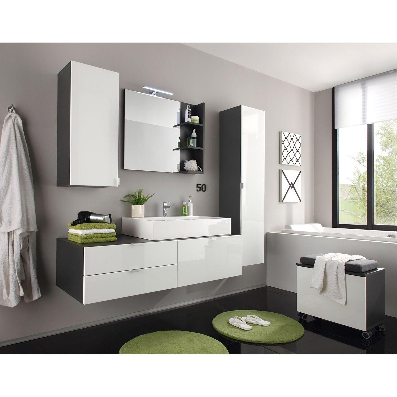 Badezimmerset Casi 4 Teilig Moderne Badezimmermobel Badezimmer Set Und Waschbeckenunterschrank