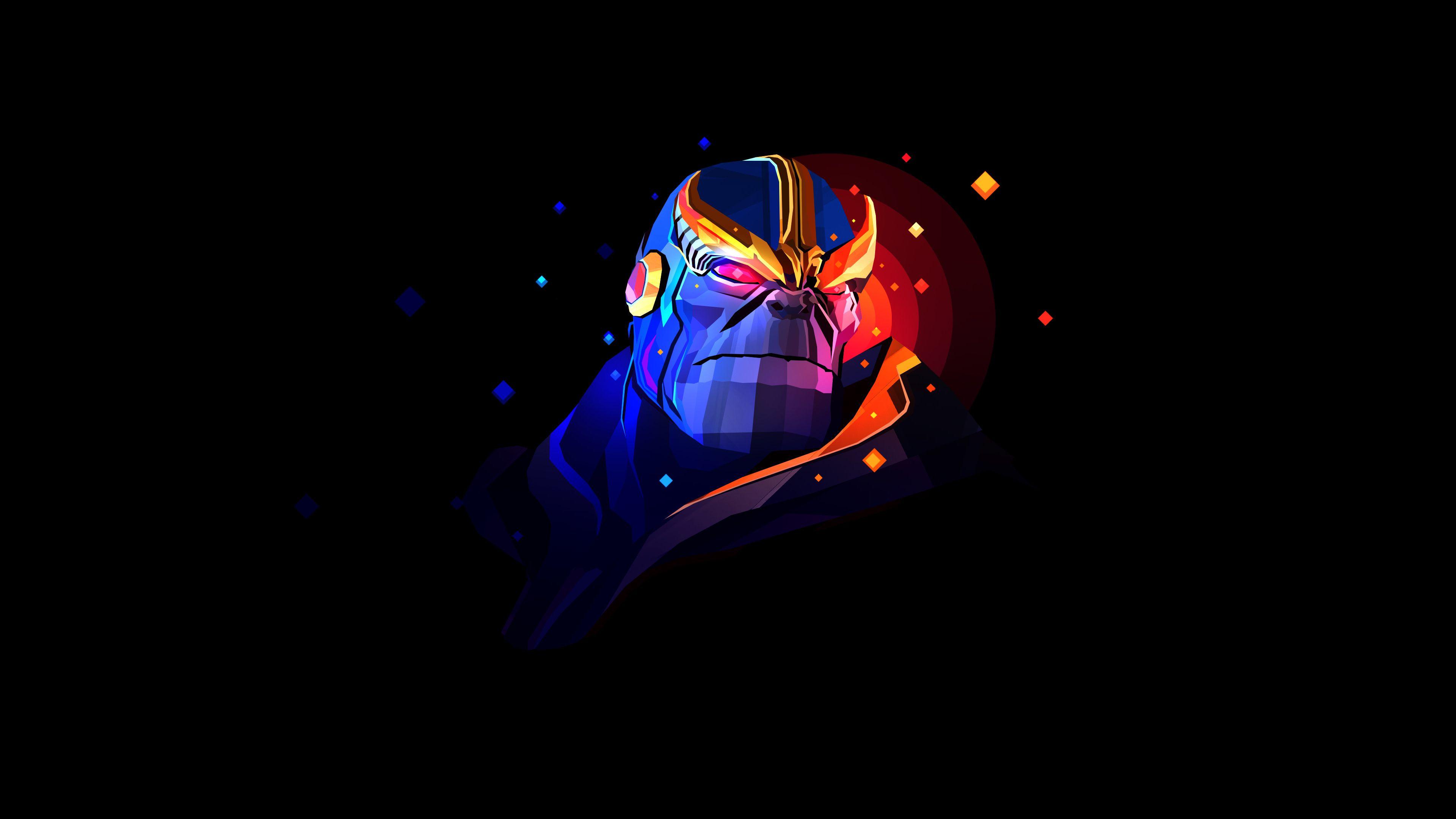 Thanos Digital Art Graphics Wallpaper 4k Background Justin Maller Wallpapers Graphic Wallpaper Justin Maller