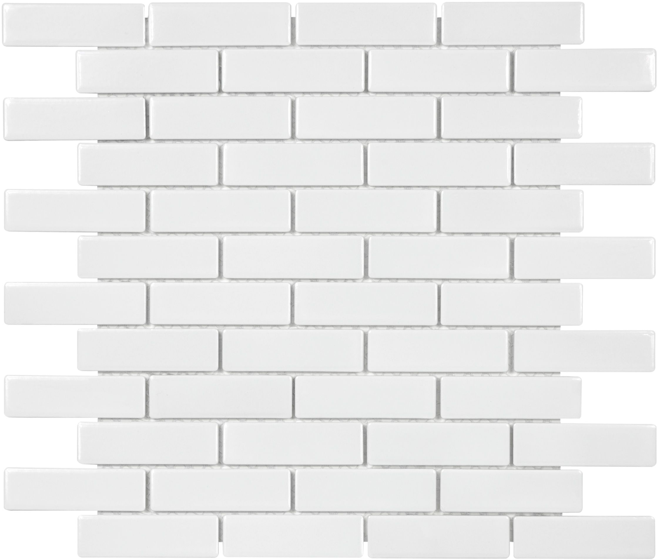 White mini brick mosaic mosaic white brick ceramic tile white mini brick mosaic mosaic white brick ceramic tile dailygadgetfo Gallery