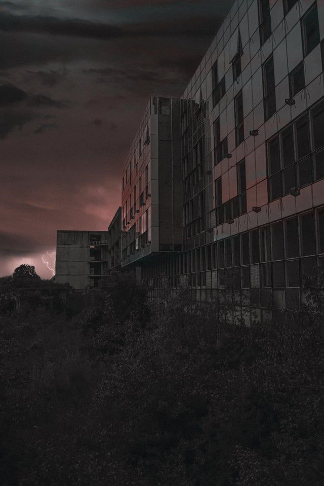 Abandoned Hospital In The Evening Before The Storm Arrives Location Croatia Zagreb 4000x6000 Oc Abandonedporn Abandoned Hospital Abandoned Hospital