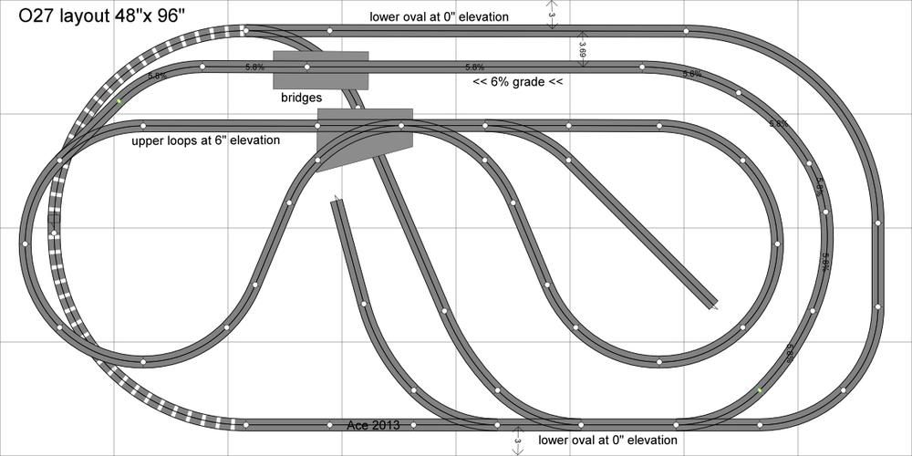 Multi Level Layout Plans Model Trains Model Railway
