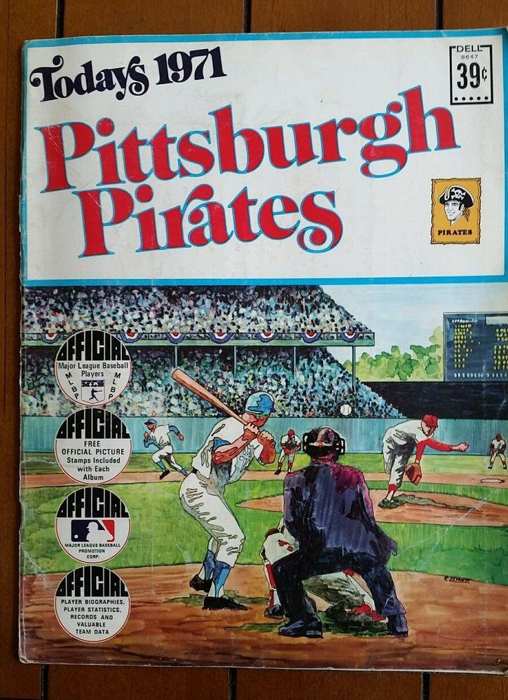 1971 mlb pittsburgh pirates world champs album book