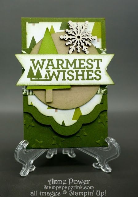 Make christmas tree gift card holder
