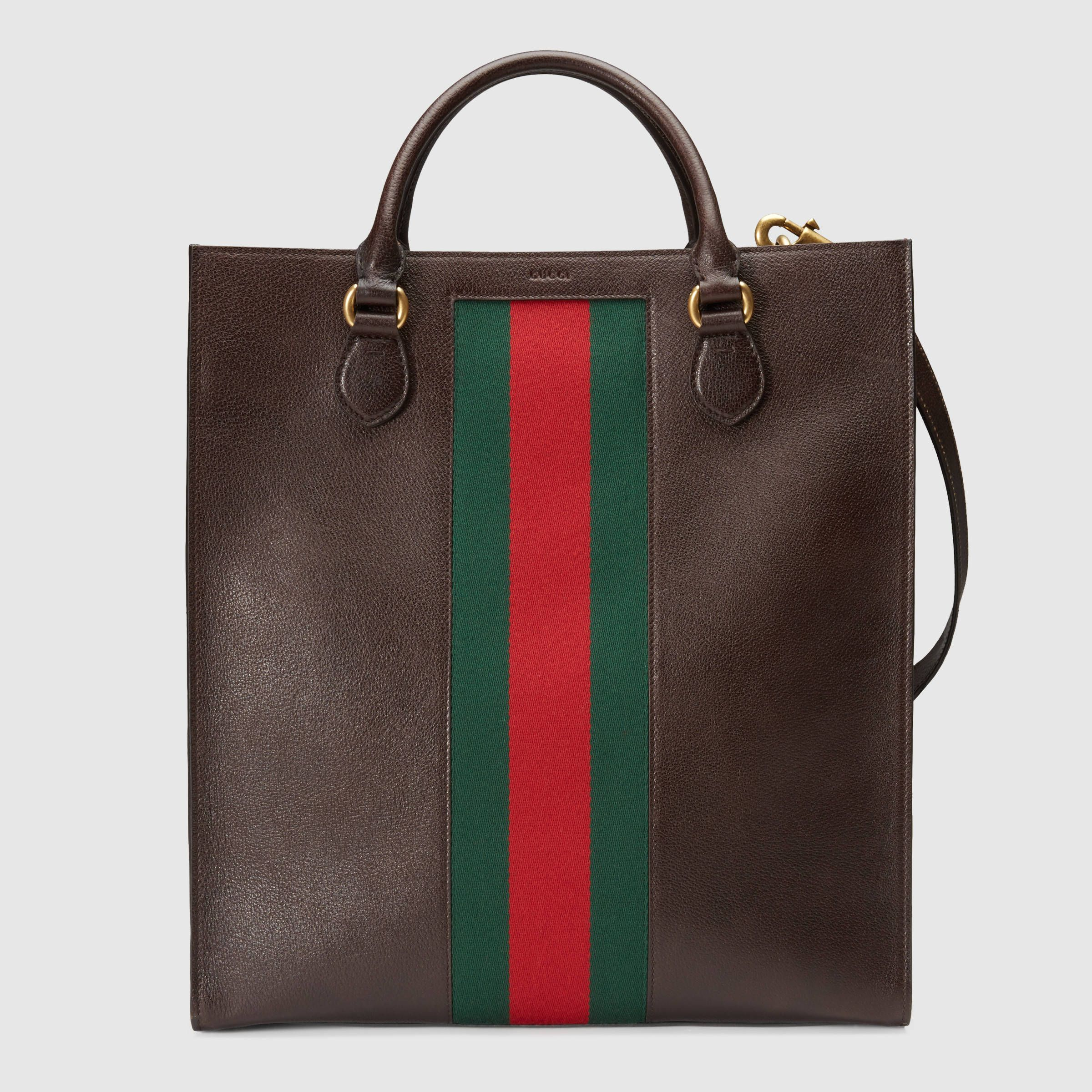 0363c4d185 Gucci Men Leather Tote (409148CWI1T2059).   bags/bag products in ...