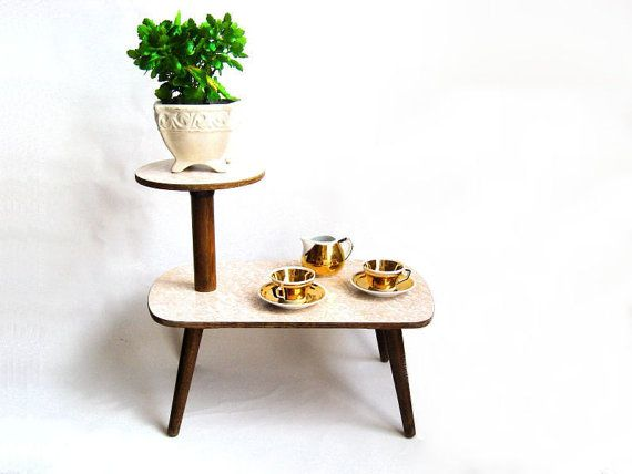Best Reserved For B Vintage Plant Stand Coffee Table Made In 400 x 300