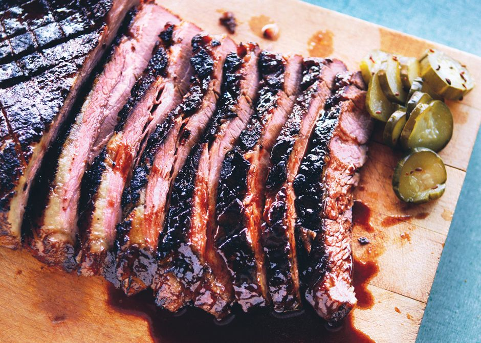 Braised Brisket With Bourbon Peach Glaze Recipe Recipe Braised Brisket Recipes Food