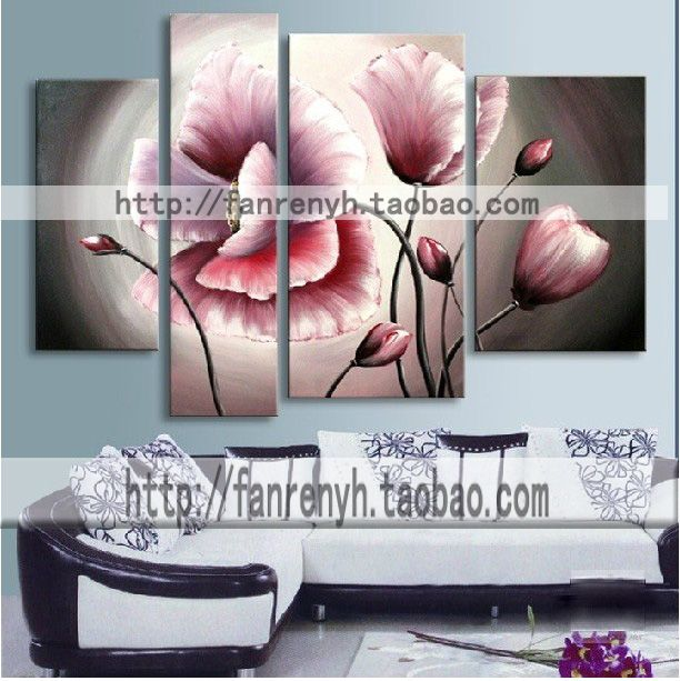 Aliexpress  Buy Hand painted sofa background wall decorative