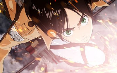 Eren Yeager Attack On Titan Hd Wallpaper Cool Anime Wallpapers Anime Wallpaper Android Wallpaper Anime