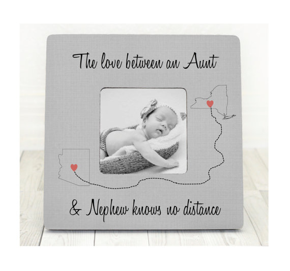 Mothers day gift aunt nephew auntie gift personalized picture frame mothers day gift aunt nephew auntie gift personalized picture frame gift custom states map from niece nephew love between aunt and nephew negle Image collections