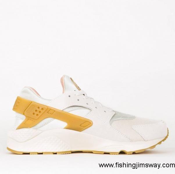 6f94a5014ba2 Buy US - Nike Air Huarache Run Se - Phantom - Gum Yellow - Light Bone -  Sail - Women - Men Nike Sportswear Shoes 852628 004