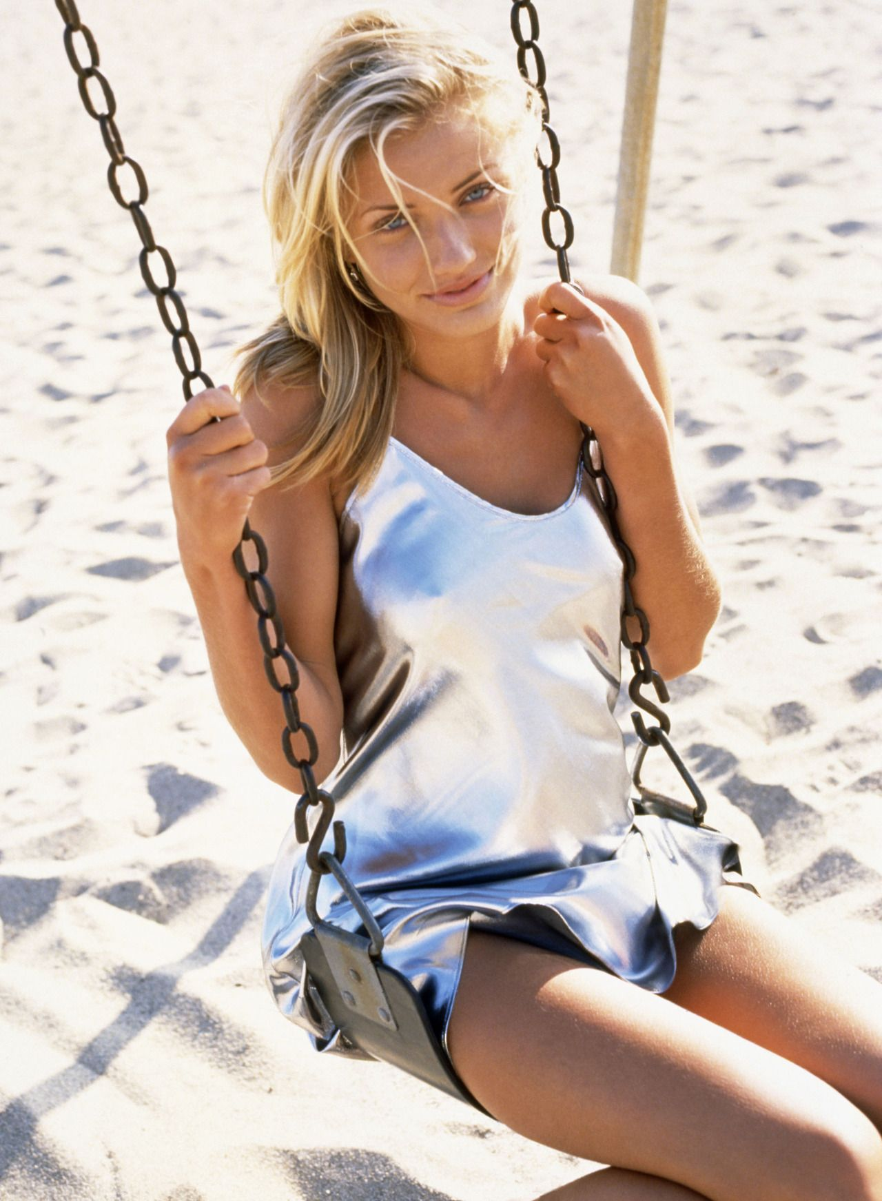 Goes! Cameron diaz young model remarkable, very