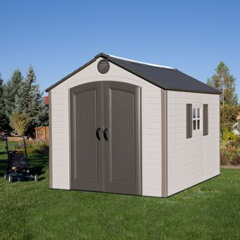 Lifetime 8' x 10' Storage Shed | Fixing up Nana's in 2019