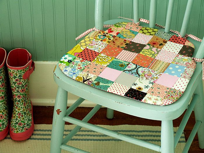 Summerhouse Seat Cushion Sewing Pattern Sewing Cushions Seat Cushions Patchwork Chair
