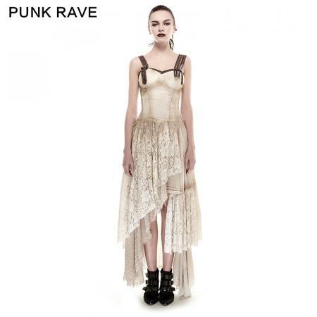 black elastic mesh stretchy sexy slit long prom gown evening punk dress