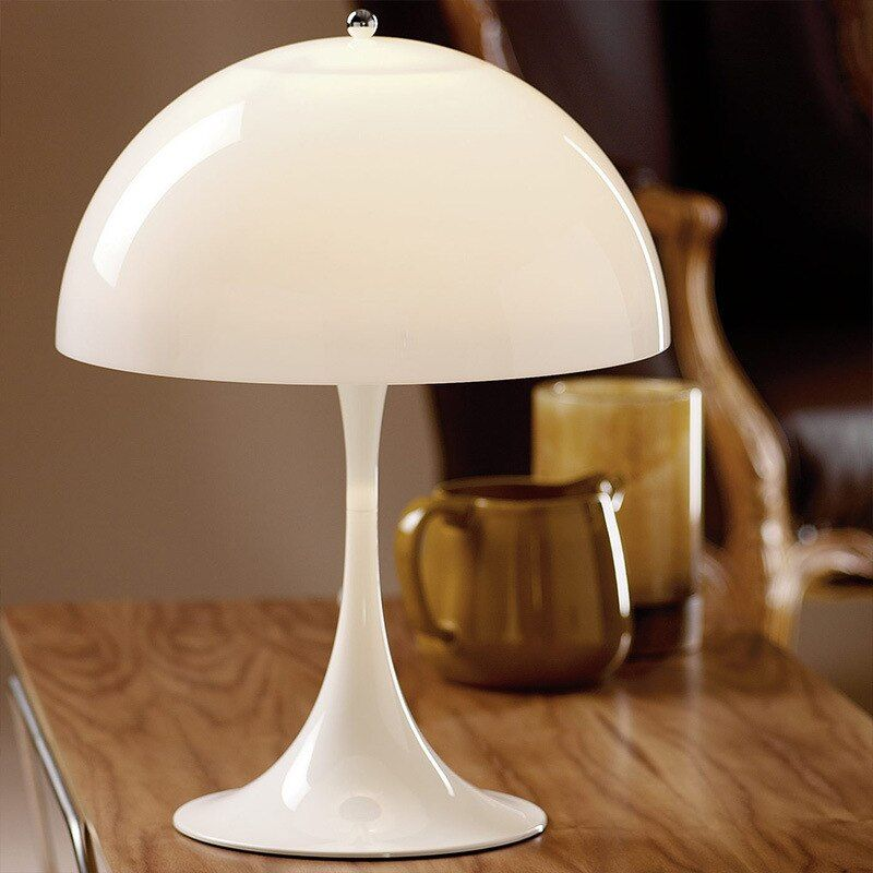 Nordic Led Table Lamp Modern Acrylic Lampshade Table Lamps For Living Room Bedroom Study Desk Deco Home E27 Night Beds In 2021 Modern Table Lamp Lamps Living Room Lamp